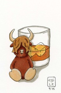 Cow and Scotch, mmm tasty.