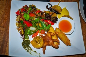 Plate of Insects for Dinner, Siem Reap