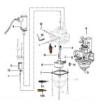 Keeway Matrix 50 Motor Getriebe Antrieb Ersatzteile