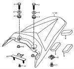 Kreidler Supermoto/Enduro 125 Verkleidung Ersatzteile