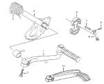TGB Hawk 50 Mod. 2008 Motor Getriebe Antrieb Ersatzteile