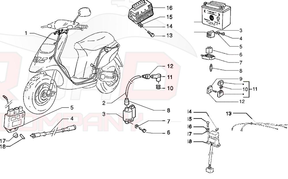 Piaggio Tph 125 Ersatzteile
