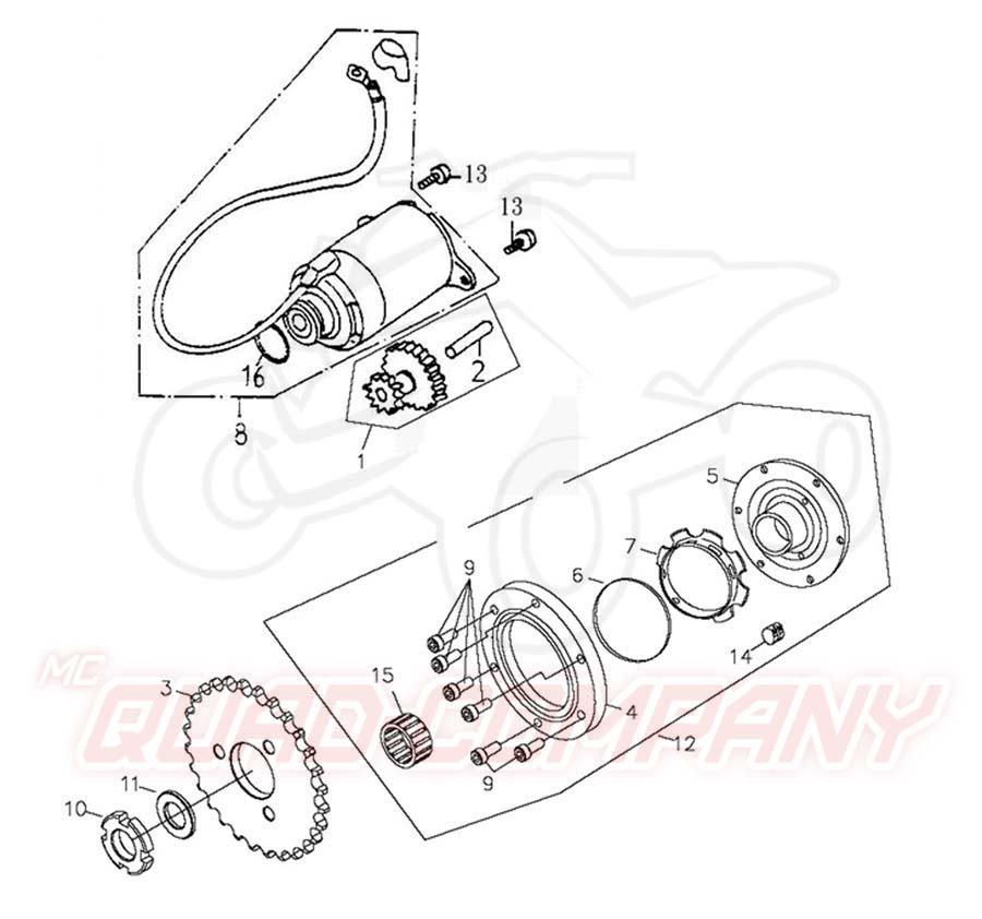 Wiring Diagram With Schematics For A 1998 400 4x4 Arctic Cat 4