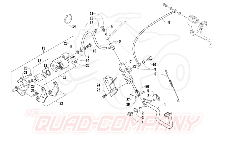 Wiring Diagram For 110 Atv
