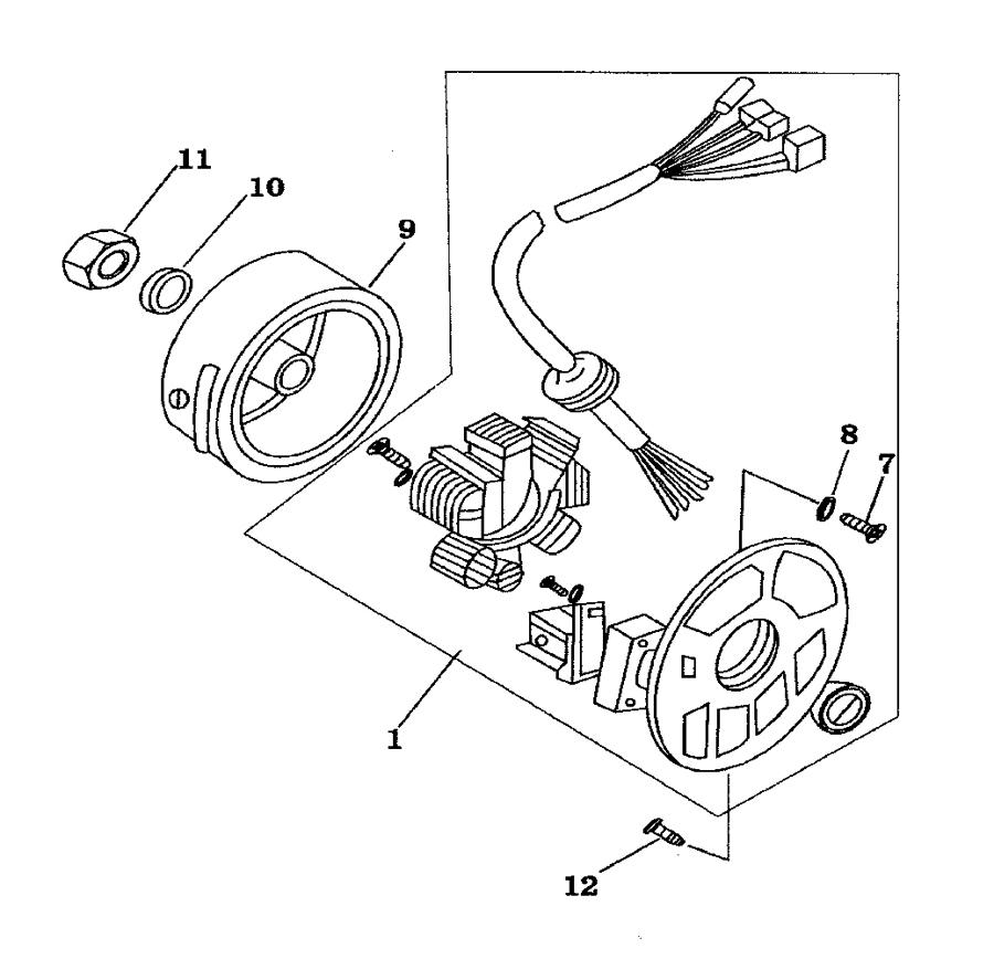 CPI Formula R Bj. 07 Lichtmaschine Ersatzteile