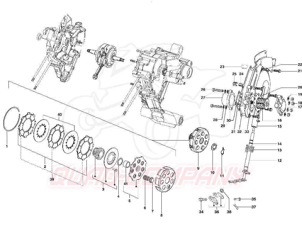 LML Star Deluxe 125 4T Kupplung Ersatzteile
