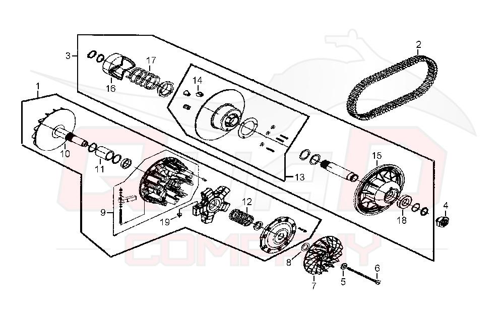 TGB Blade 1000 LT EFI offroad LOF IRS Variomatik Ersatzteile