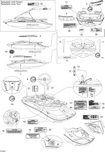 Sea-Doo Sportboot von 2006 Bj Speedster 200 Twin 4-TEC