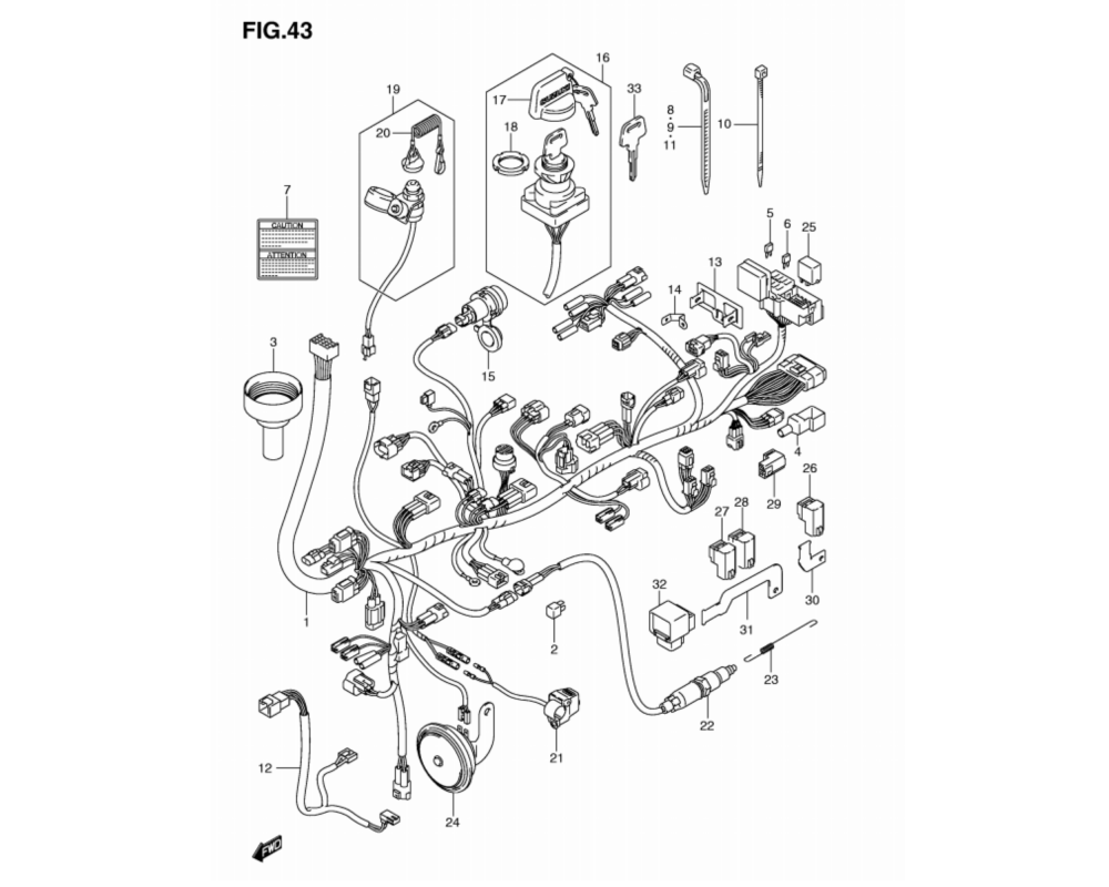 medium resolution of wiring harness lt a750xpl2 p17 motor rahmen lta 750 king quad 2012 ersatzteile suzuki lta 750 king quad ersatzteile suzuki ersatzteile quad