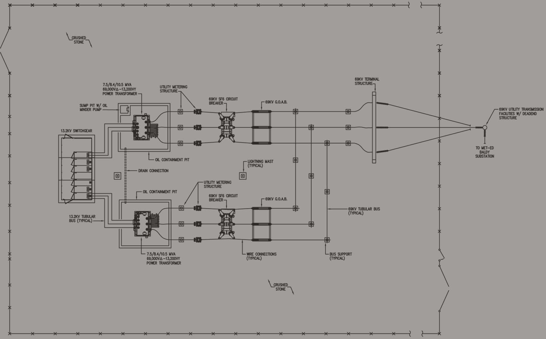 wiring diagram substation featherlite car trailer drawing images reverse search
