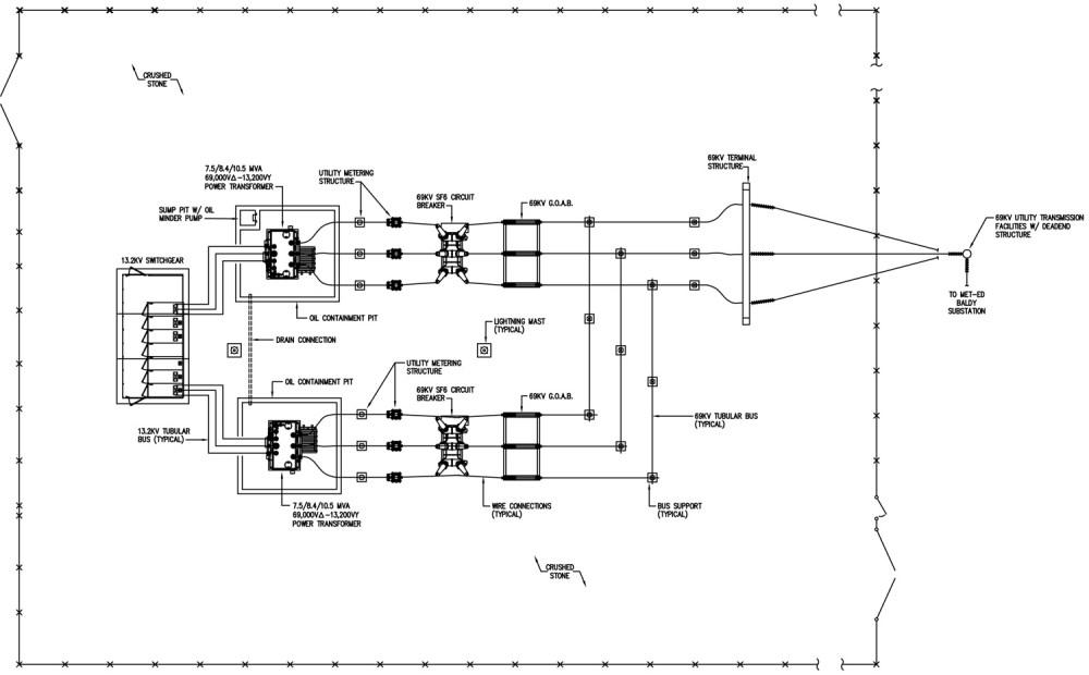 medium resolution of 69kv 13 2kv substation feasibility design