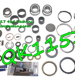 qk1153 premium rebuild kit with 9 synchro rings for 1997 1998 gm 4x2 new venture 5 speed manual transmission in c trucks  [ 2000 x 1380 Pixel ]