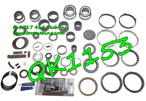 small resolution of qk1153 premium rebuild kit with 9 synchro rings for 1997 1998 gm 4x2 new venture 5 speed manual transmission in c trucks