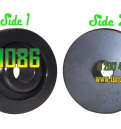 qt1086 1974 1977 5 ford dana 60 and 1978 1979 ford dana 44 large diameter inner axle shaft seal installer installs qu40160 2 5 8 outside diameter inner  [ 3412 x 2220 Pixel ]