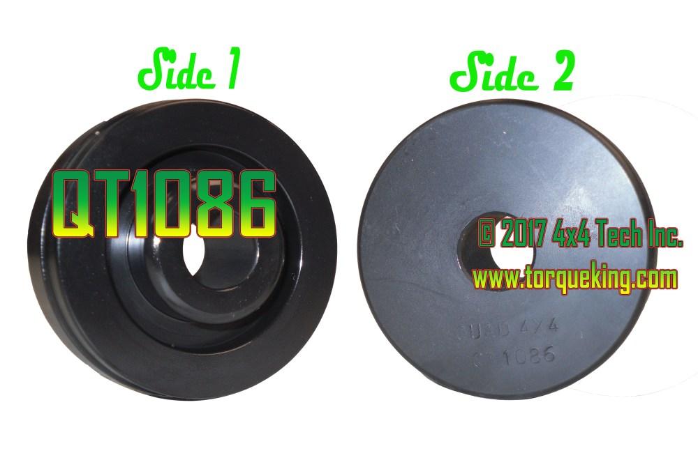 medium resolution of qt1086 1974 1977 5 ford dana 60 and 1978 1979 ford dana 44 large diameter inner axle shaft seal installer installs qu40160 2 5 8 outside diameter inner