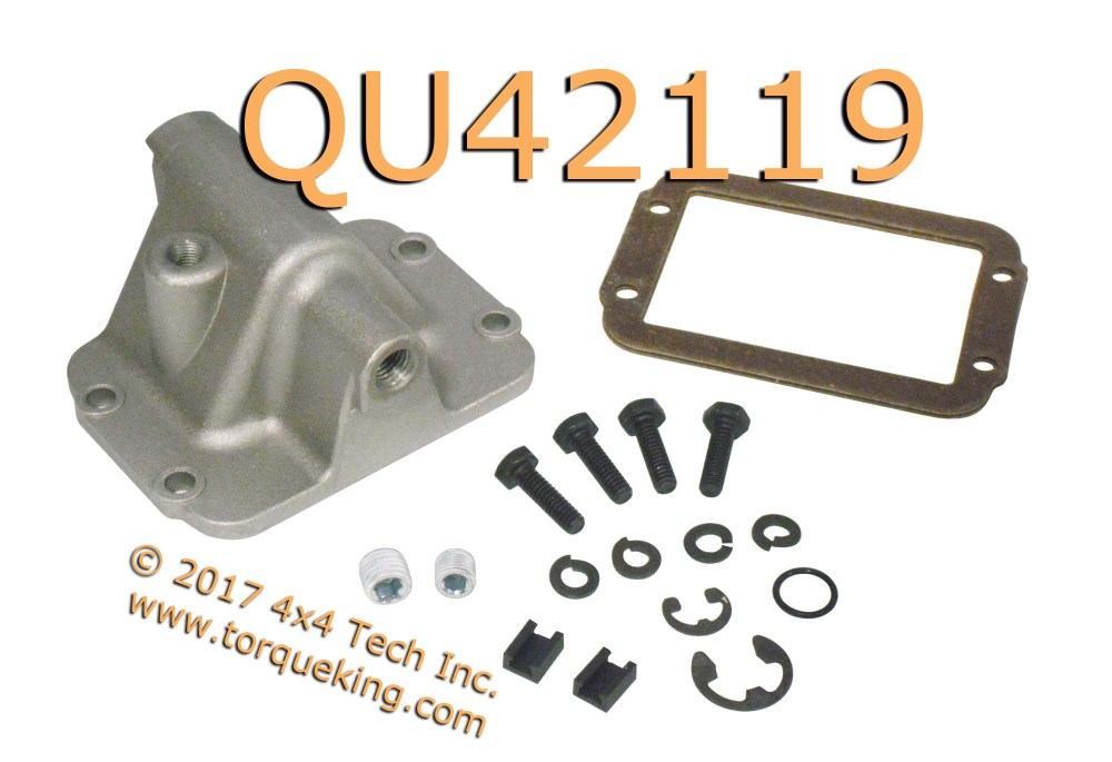 medium resolution of qu42119 replacement cad axle shift housing kit aluminum housing is used to replace broken or damaged housings on your heavy duty ram fits all 1994 dodge