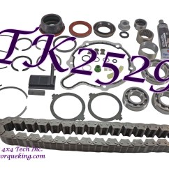 tk2529 torque king transfer case master overhaul kit for 1998 1999 dodge ram 1500 new process np231dhd transfer case assembly numbers 52105021 and  [ 2000 x 1500 Pixel ]
