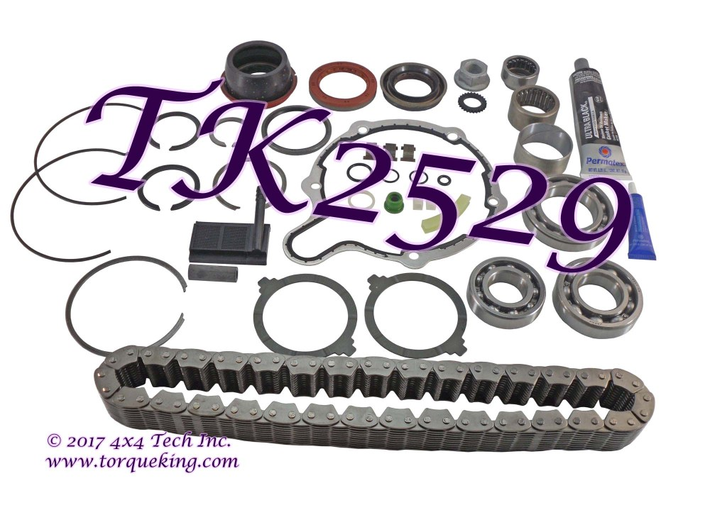 medium resolution of tk2529 torque king transfer case master overhaul kit for 1998 1999 dodge ram 1500 new process np231dhd transfer case assembly numbers 52105021 and