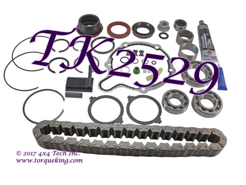 small resolution of tk2529 torque king transfer case master overhaul kit for 1998 1999 dodge ram 1500 new process np231dhd transfer case assembly numbers 52105021 and