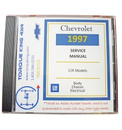 1988 1999 gm factory c k truck service manuals on cd are your source for complete service maintenance and repair information for your 1988 1999 chevy or  [ 4000 x 3000 Pixel ]