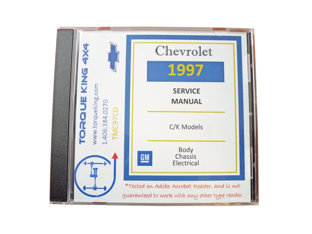 medium resolution of 1988 1999 gm factory c k truck service manuals on cd are your source for complete service maintenance and repair information for your 1988 1999 chevy or
