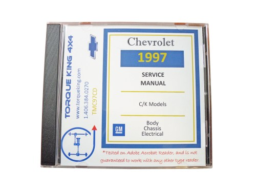 small resolution of 1988 1999 gm factory c k truck service manuals on cd are your source for complete service maintenance and repair information for your 1988 1999 chevy or