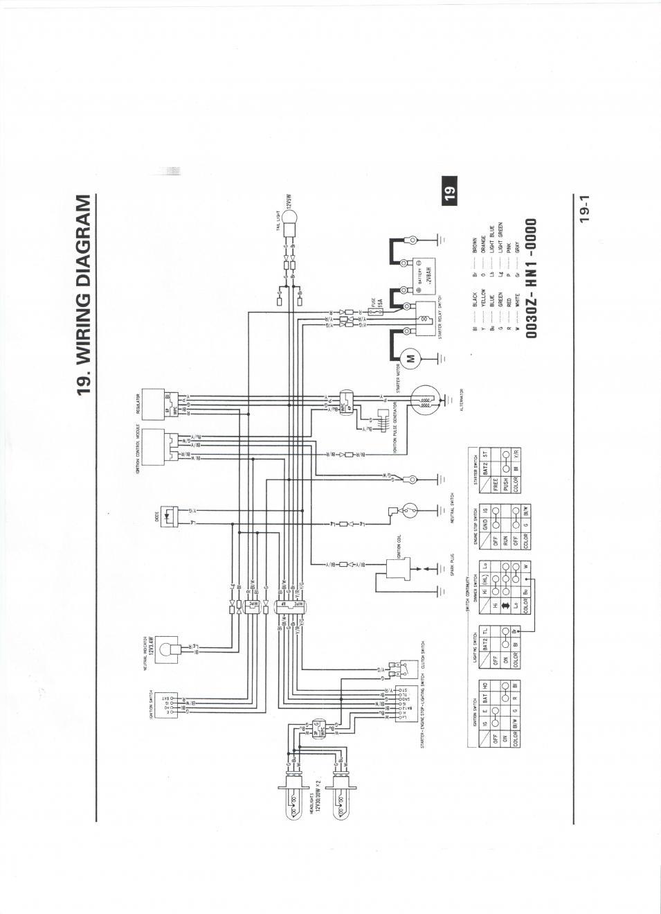 400ex headlight wiring diagram