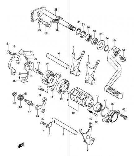 2006 Suzuki Ltr 450 Service Manual