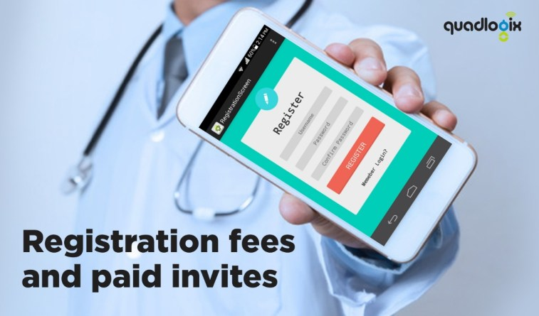 Registration Fees and Paid Invites