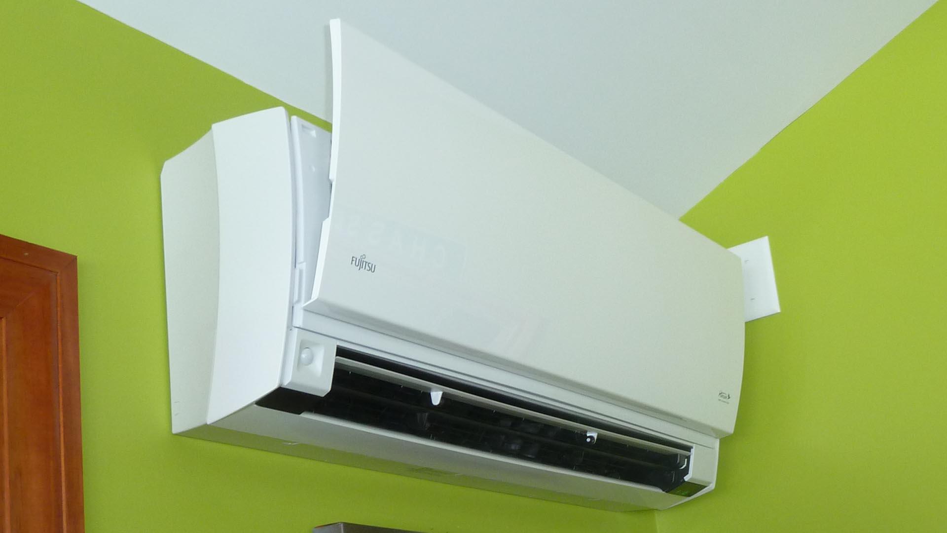 Quadomated  Fujitsu 15RLS2 Heat Pump Installed  My