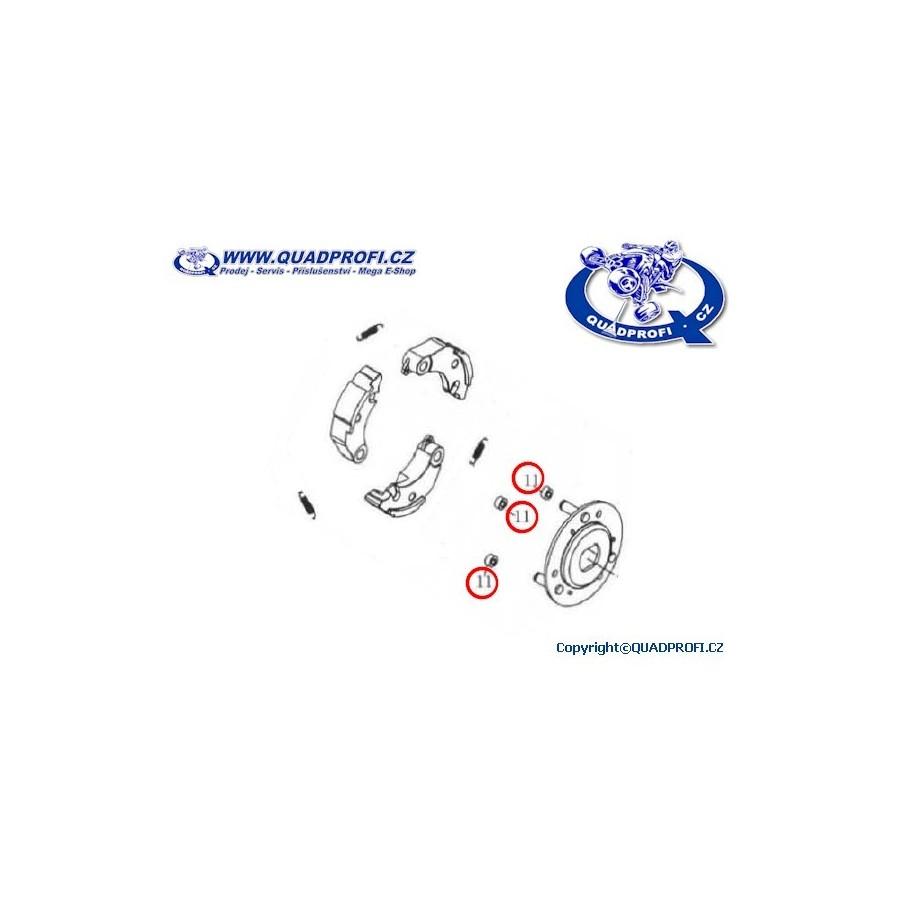 Rubber washer clutch for SMC RAM Jumbo 250 300 301 302 320
