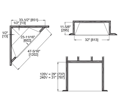 Electric Fireplace Inserts With Heater Electric Fireplaces