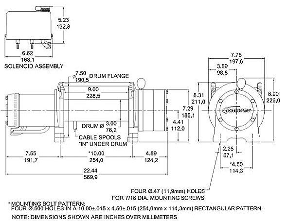 Ramsey Rep 8000 Solenoid Diagram, Ramsey, Free Engine