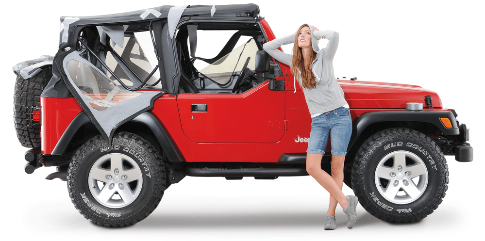 medium resolution of worn out soft top select your vehicle wrangler unlimited