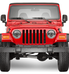 1997 2006 jeep wrangler tj replacement parts [ 1008 x 909 Pixel ]