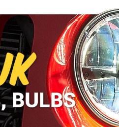 when it comes to jeep lighting wrangler jk owners have plenty of options these days lighting parts like halogen led and hid all use different types of  [ 2000 x 460 Pixel ]