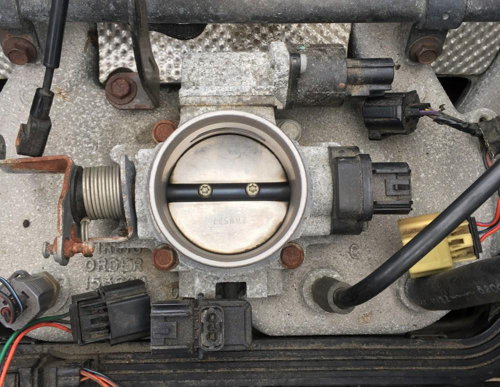 medium resolution of step 6 remove throttle body bolts