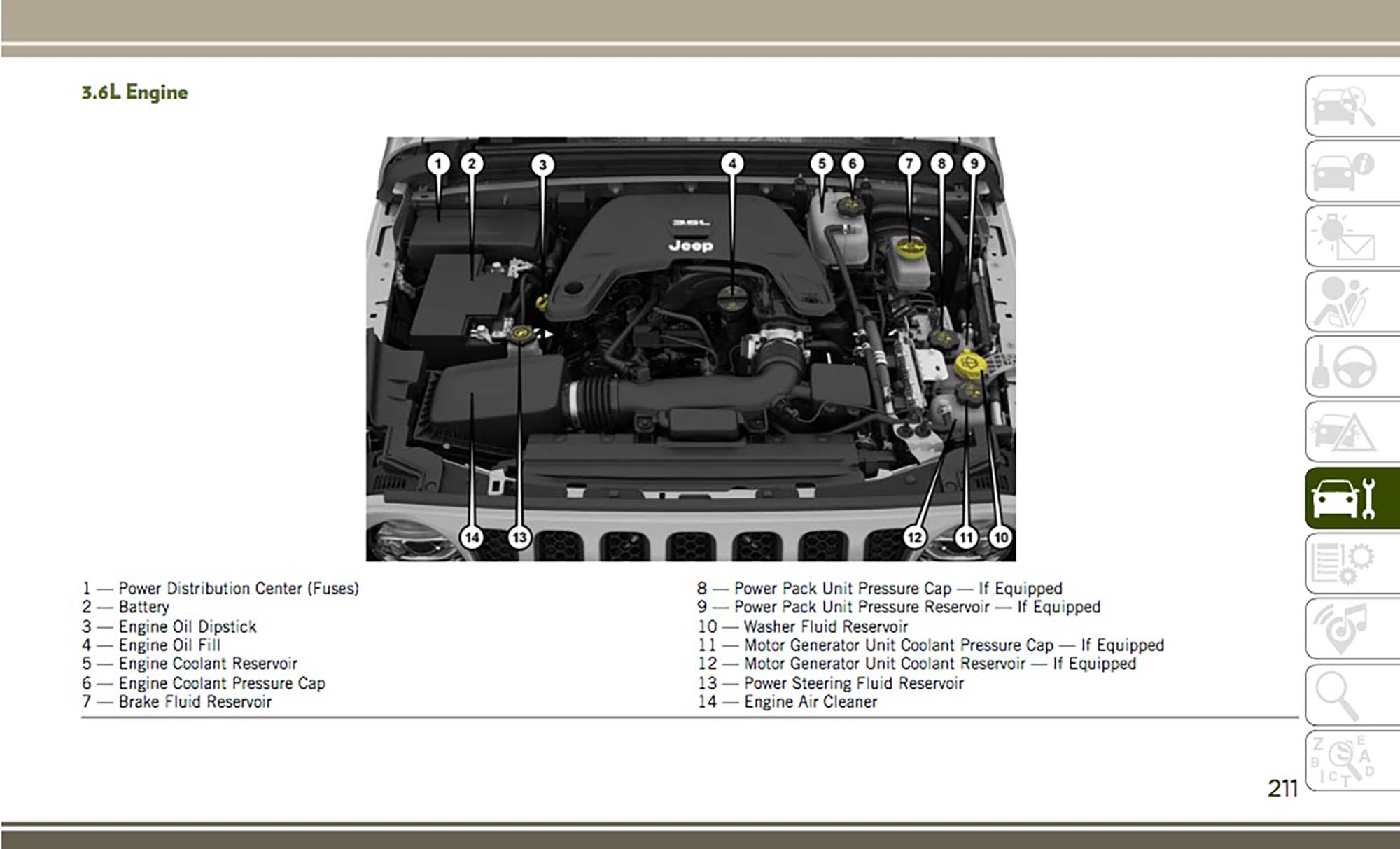 hight resolution of 2018 jl wrangler owner s manual leaked 8 things you may love 2010 jeep wrangler 3 8 engine diagram on dodge shadow engine diagram source dodge 2 7l