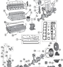 1987 2006 jeep 4 0l 242ci inline 6 cylinder engine replacement parts [ 730 x 1172 Pixel ]