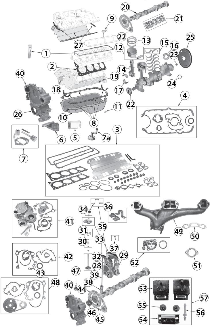 1971-1991 Jeep 5.0L (304c.i.) & 5.9L (360c.i.) 8 Cylinder
