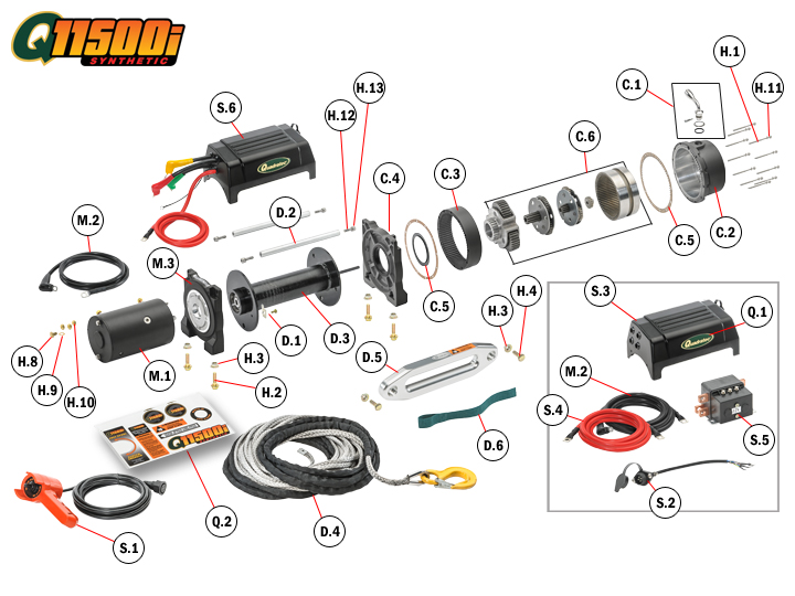 champion winch wiring diagram