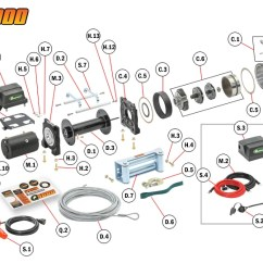 Mile Marker Hydraulic Winch Wiring Diagram Translation Biology Replacement Parts
