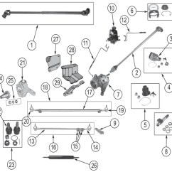 Cj5 Steering Column Diagram Hopkins 6 Way Wiring Jeep Cj Series Parts ('41-'86) | Quadratec