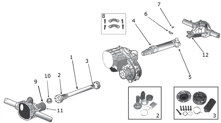 Jeep Driveshaft Parts Diagram. Jeep. Auto Wiring Diagram
