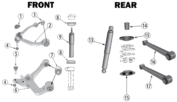 jeep liberty parts diagram