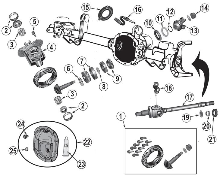 tj jeep diagram