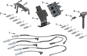 Jeep Wrangler JK Electrical Ignition Parts | Quadratec