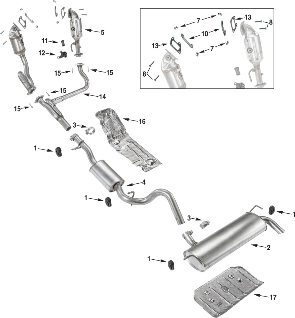 medium resolution of jeep wrangler jk exhaust parts 12 18 quadratec jeep wrangler yj exhaust system diagram further jeep wrangler exhaust