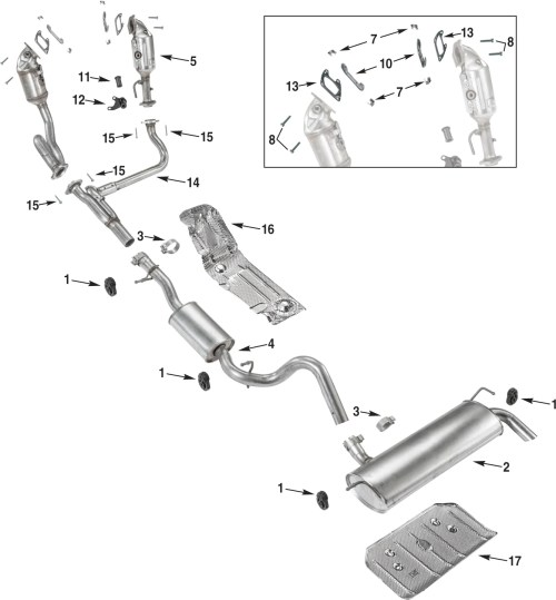 small resolution of jeep wrangler jk exhaust parts 12 18 quadratec jeep wrangler yj exhaust system diagram further jeep wrangler exhaust