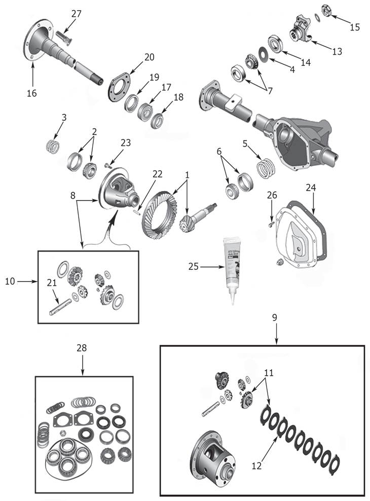 Dana 35 Front Axle Diagram. Diagrams. Wiring Diagram Images